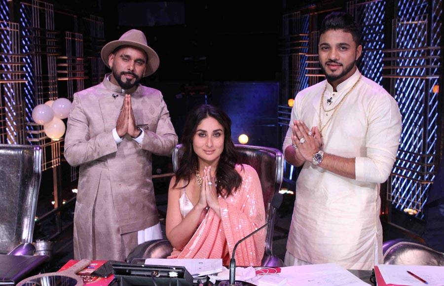Pictures from the set of Dance India Dance