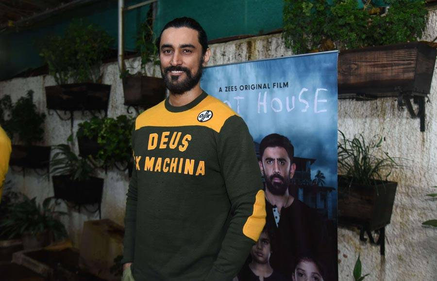 Celebs attend the screening of Zee 5's Barot House