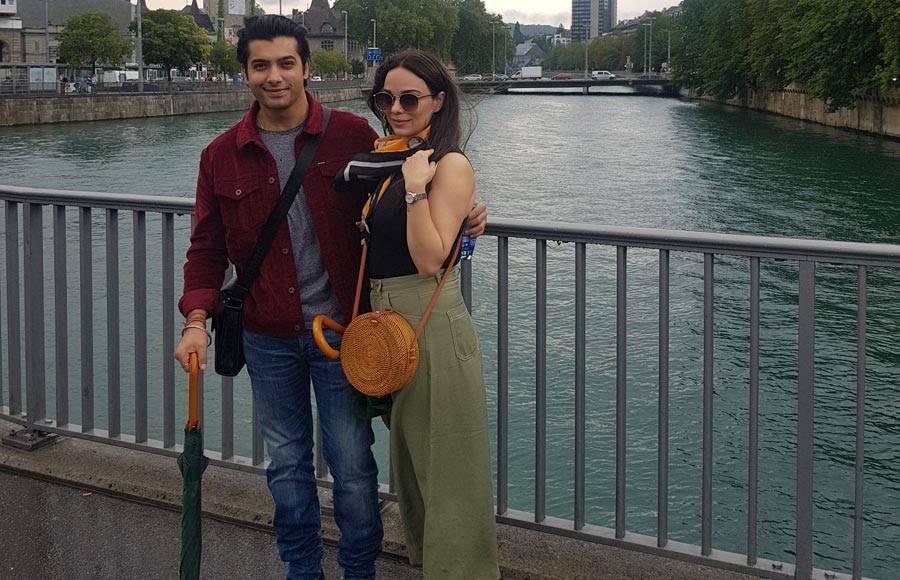 Ssharad Malhotra and wife Ripci enjoys honeymoon in Europe