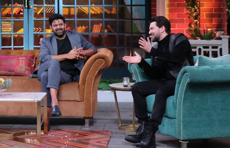 Prabhas and Shraddha Kapoor on The Kapil Sharma Show