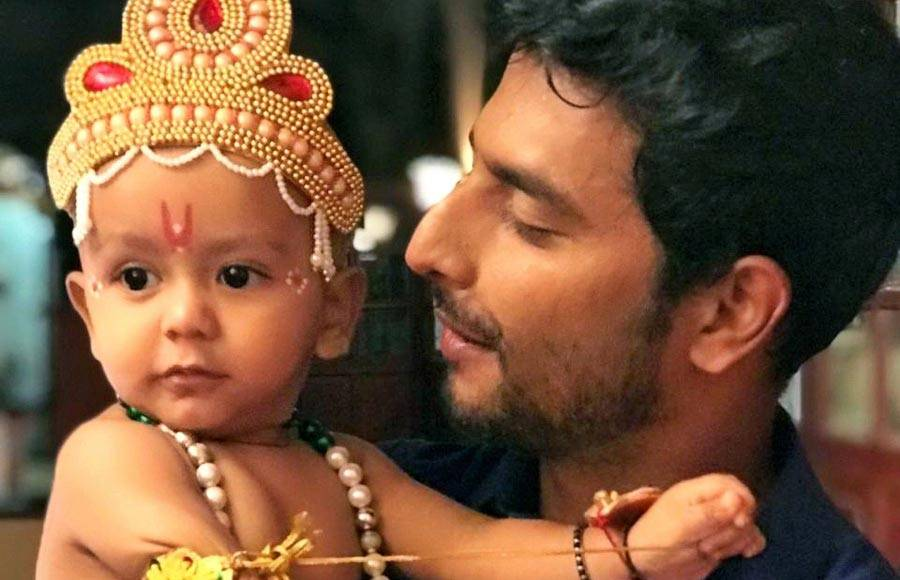 Baby Arzan Shaikh dons the avatar of Lord Krishna in Tujhse Hai Raabta