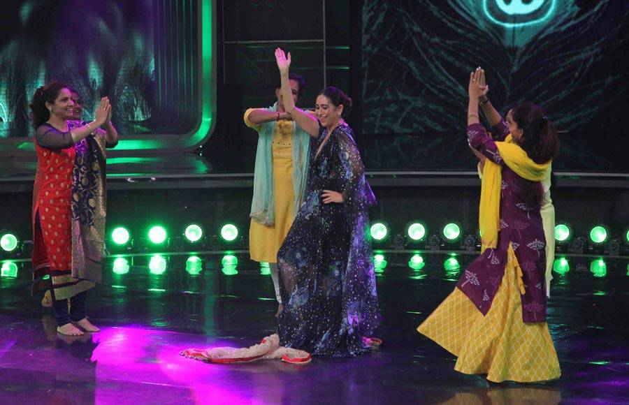 Karisma Kapoor recreates iconic song 'Maiya Yashoda' on Dance India Dance Champions