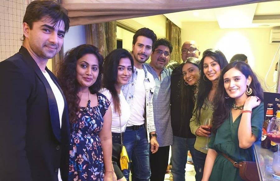 It's party time for the team of Yeh Rishta Kya Kehlata Hai