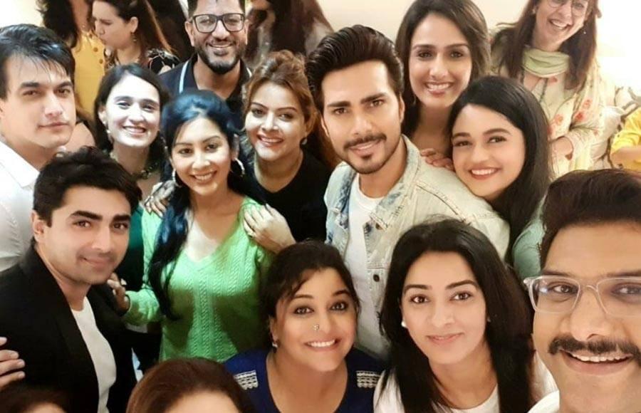 It's party time for the team of Yeh Rishta Kya Kehlata Hai