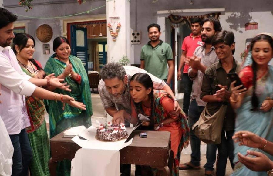 Birthday bash on the sets of &TV's Gudiya Humari Sabhi Pe Bhari