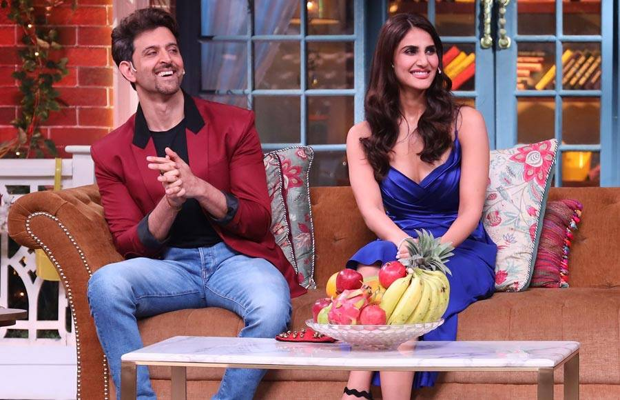 Hrithik Roshan and Vaani Kapoor promotes their movie War in The Kapil Sharma Show