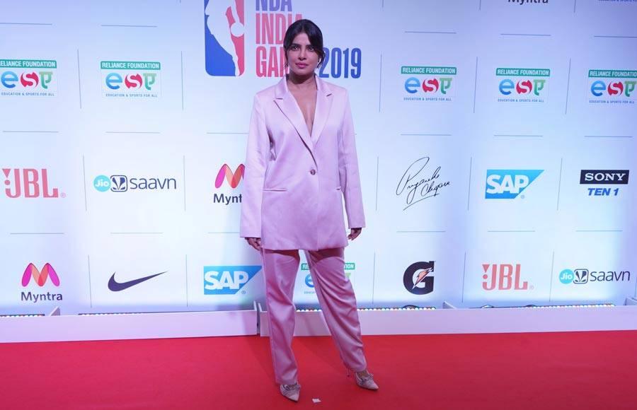 Celebs at NBA India Games 2019