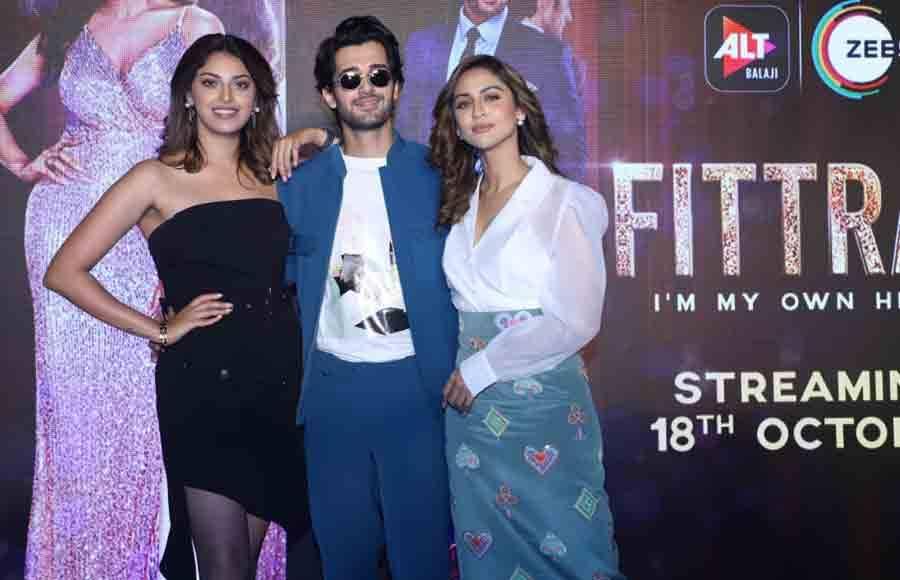 Trailer Launch of Alt Balaji and Zee5's Fittrat