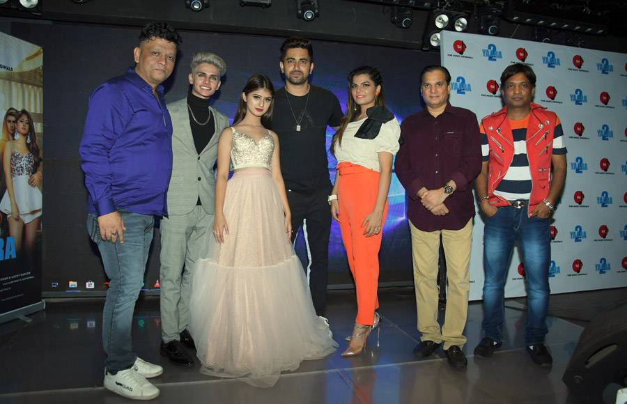 Celebs at a song launch