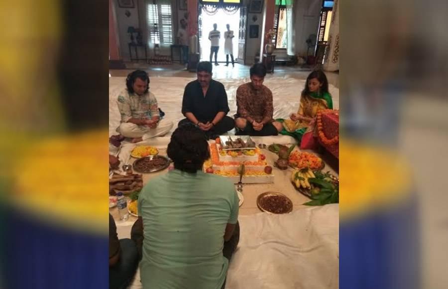 Havan on the sets of Yeh Rishtey Hain Pyaar Ke