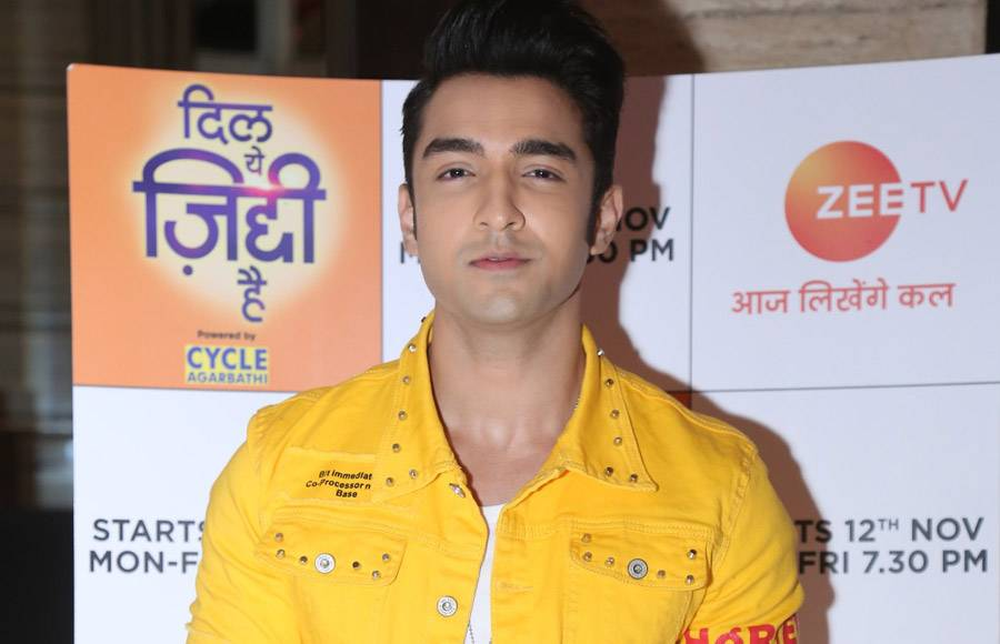 Launch of Zee TV's new show  'Dil Yeh Ziddi Hai'