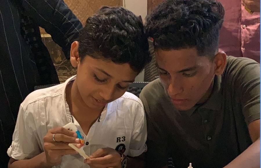 Gautam Rode celebrates Children's Day with underprivileged kids