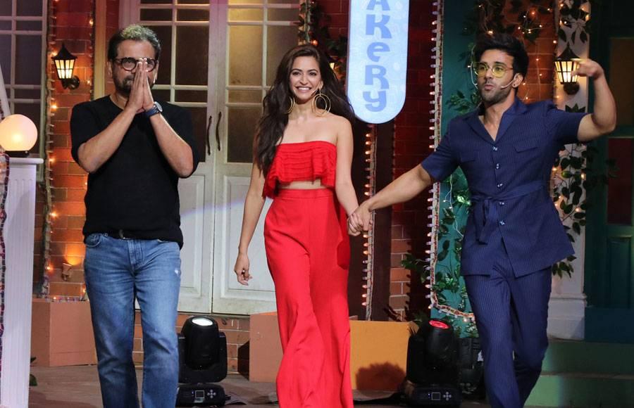 Pagalpanti team on The Kapil Sharma Show