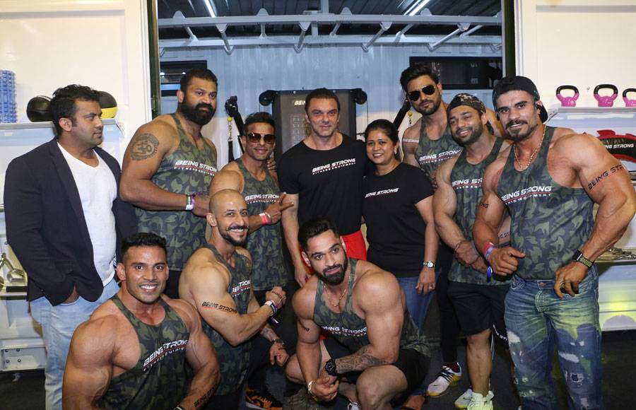 Salman Khan inaugurates his fitness brand Being Strong