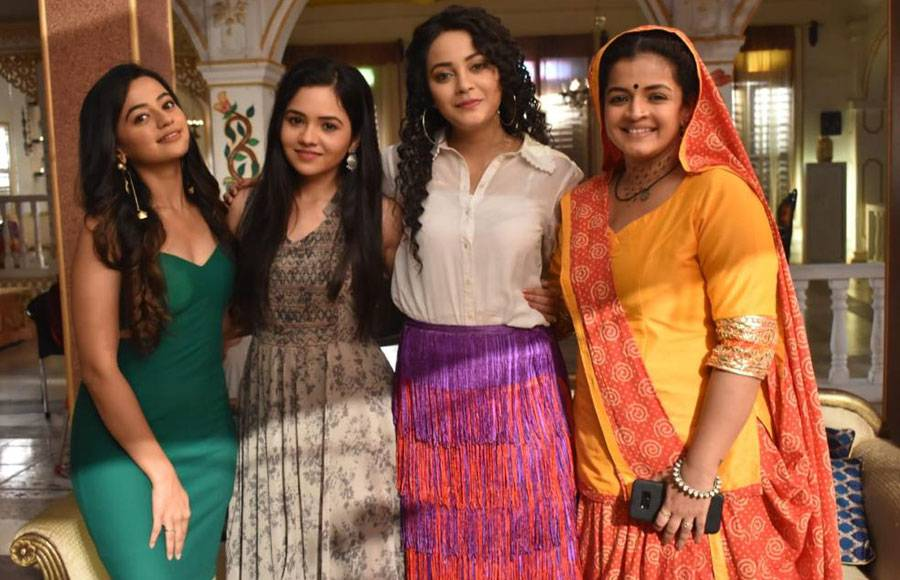 In Pics : Rajan Shahi welcomes Helly Shah