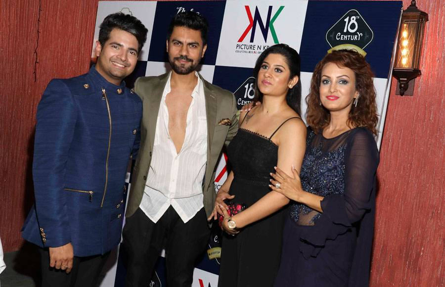 Celebs at the birthday & anniversary bash of Nisha Rawal & Karan Mehra