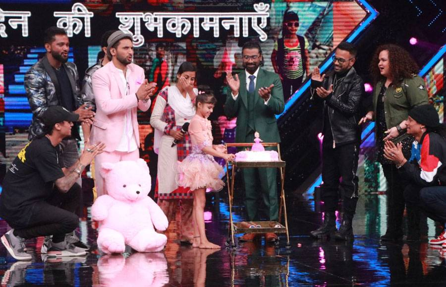 Special Celebration on the sets of Dance+ 5