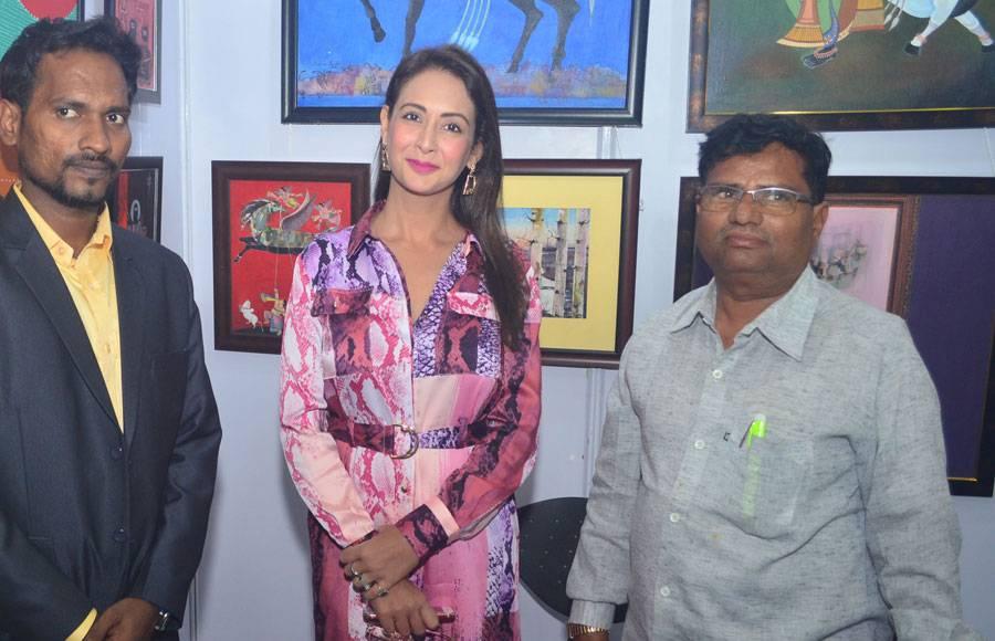Gautam Rode, Preeti Jhangiani and Angela Krislinzki grace Artival 2019