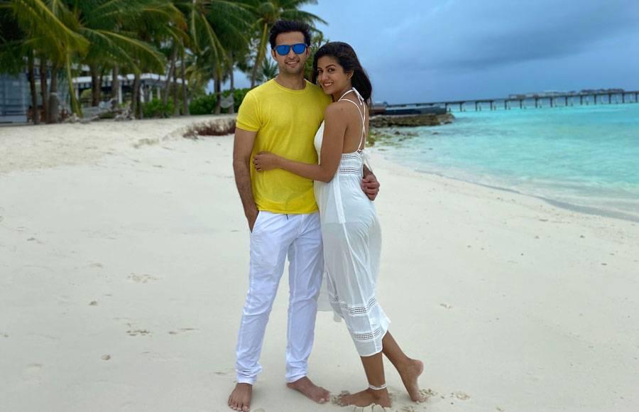 In pics: Vatsal Seth and Ishita Dutta holiday in Maldives