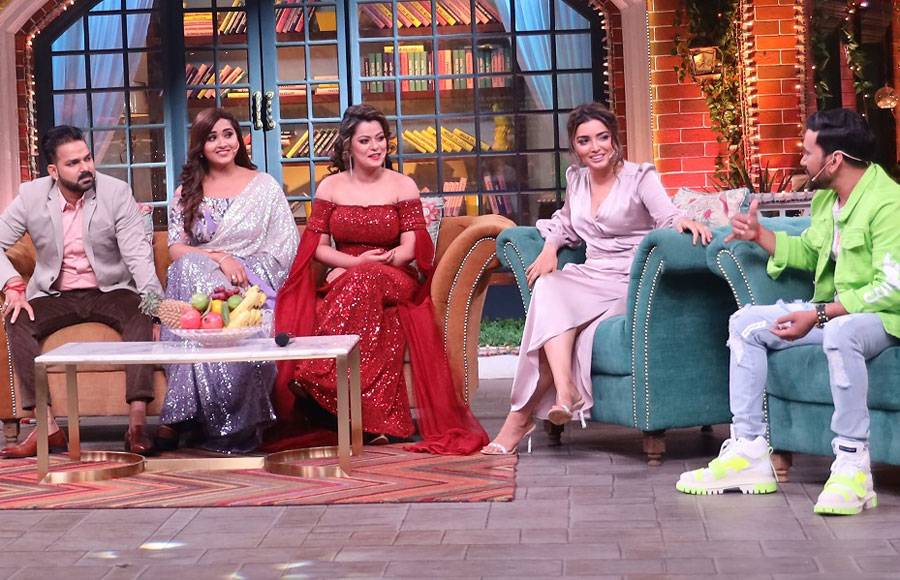 Bhojpuri actors on The Kapil Sharma Show