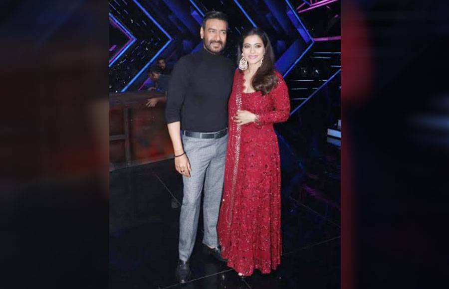 Ajay Devgn and Kajol on the sets of Dance Plus 5