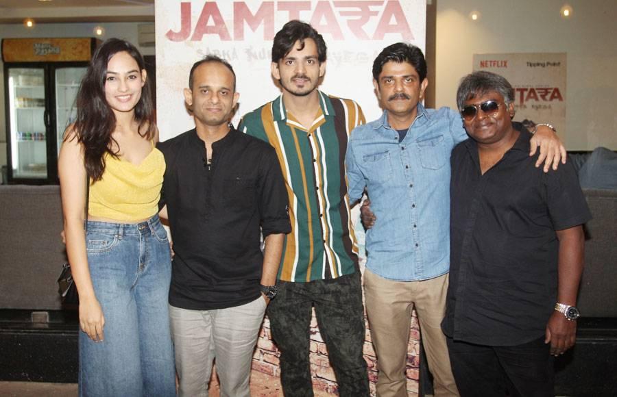 Screening of Netflix's Jamtara-Sabka Number Ayega