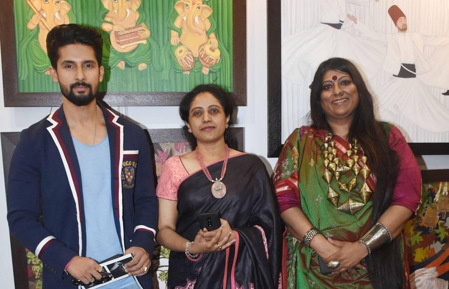 Ravi Dubey, Nandish Sandhu & others attend India Art Festival 2020