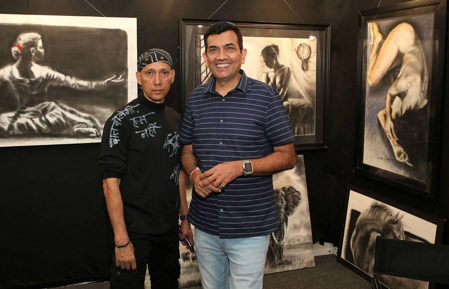 Aditi Rao Hydari and Master Chef Sanjeev Kapoor grace India Art Festival 2020