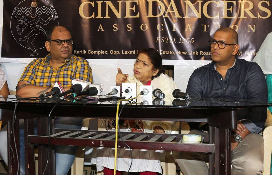 Saroj Khan turn brand ambassador  at Cine Dancers Association
