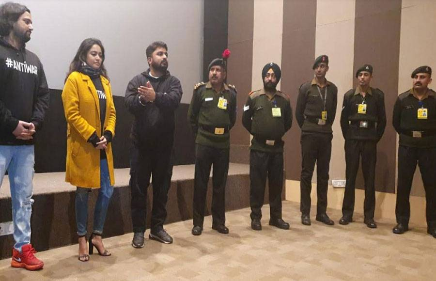 Special screening of BUNKER held for Indian Armed forces