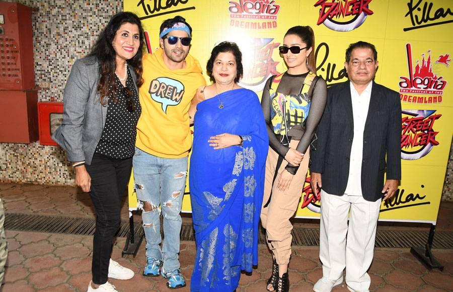 Varun Dhawan and Shraddha Kapoor  at 'The Festival of Joy'