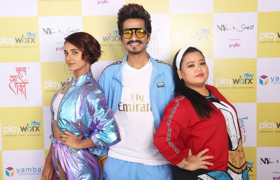 Neeti, Bharti, Harsh and others shoot for Break A Leg Season 2