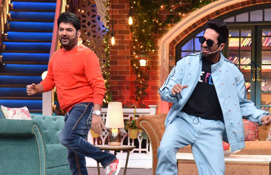 Shubh Mangal Zada Saavdhan on The Kapil Sharma Show