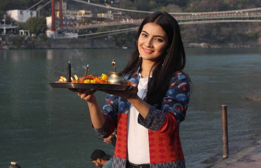 Zee TV launches their new Qurbaan Hua in Rishikesh