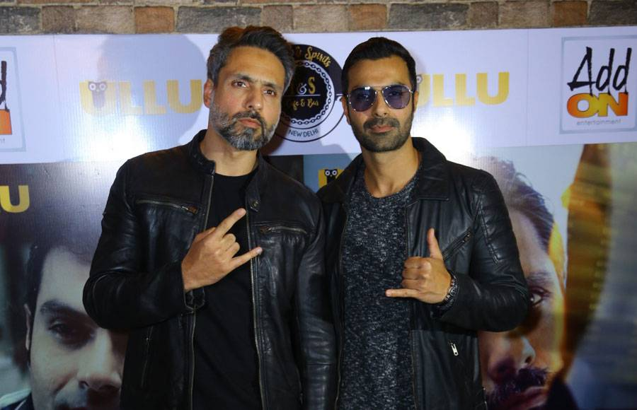 Ashmit Patel and Iqbal Khan promote their web-series The Bull Of Dalal Street