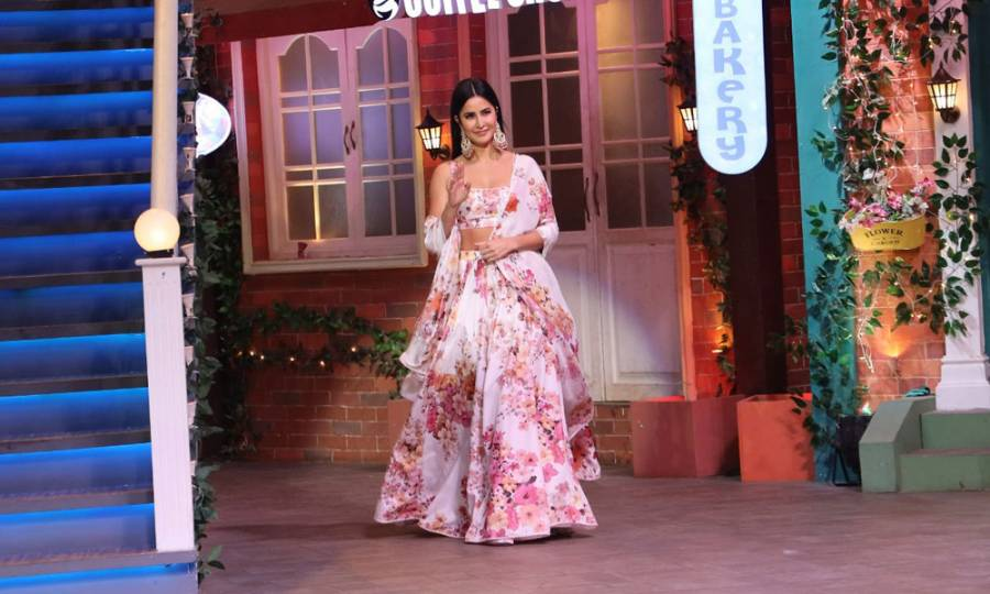 Sooryavanshi cast on the sets of The Kapil Sharma Show