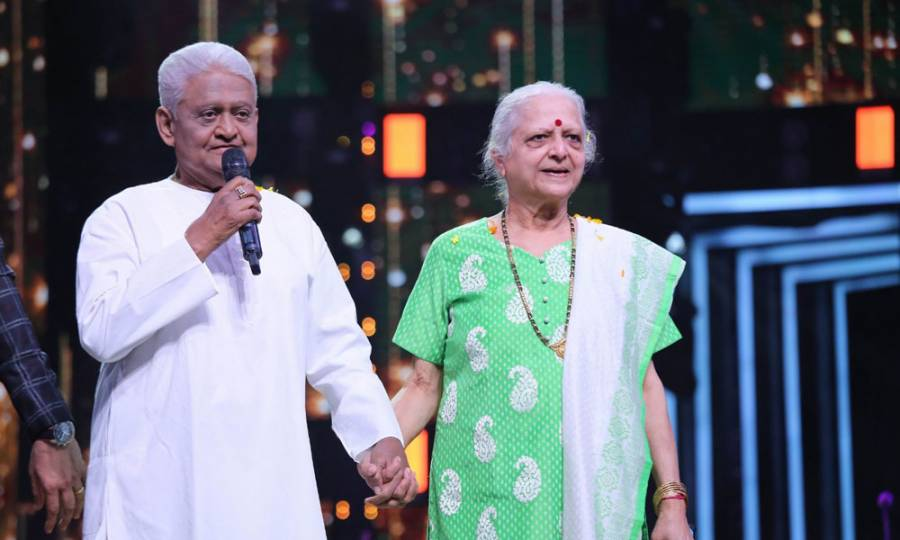 Veteran music director Pyarelal Sharma graces Li'l Champs