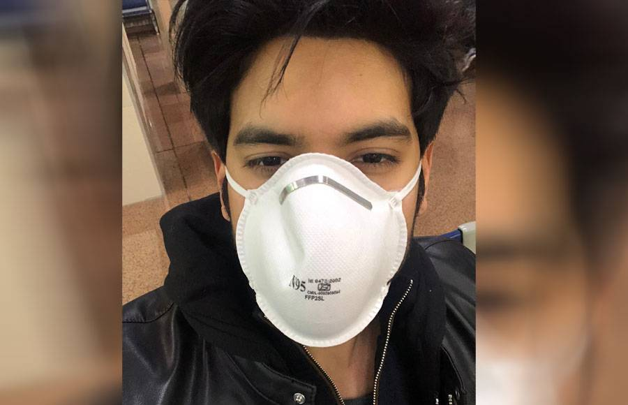 In pics: TV fraternity take precautions courtesy Coronavirus scare