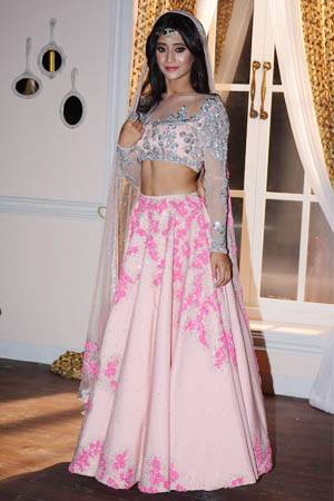 Neeta Lulla exclusively designs Star Plus\' brides Anika, Kirti ...