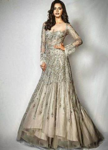 Image result for manushi chillar in gown