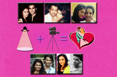 TV actors in love on the sets |Lights, camera, love in TV industry